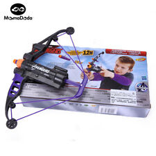 Avengers Hawkeye Nerf Gun Bow and Arrow Crossbow Darts Soft Foam Toy for Kids