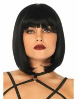 Short Straight Brazilian Real Human Hair Glueless Lace Front Wig  Pre Plucked