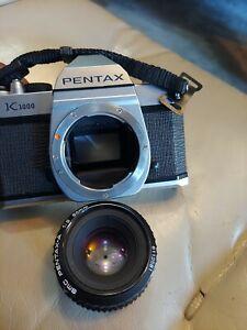 Mint Pentax K1000 SE 35mm SLR SMC 50mm F2 Lens - Film Tested