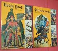 freccia nera + robin hood-1° SERIE edizioni-amz 1977 VOLUMI A fumetti COLORI