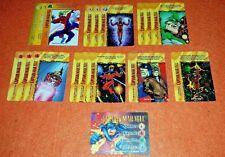 OVERPOWER Captain Mar-Vell PLAYER SET hero 14 sp 3 Marvels Rick Jones Universal