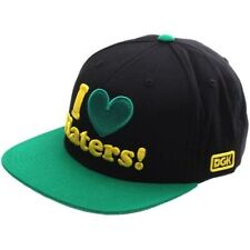 DGK I Love Haters Snapback Cap - Black/Green