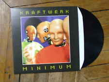 KRAFTWERK Minimum LP Vinyl couleur