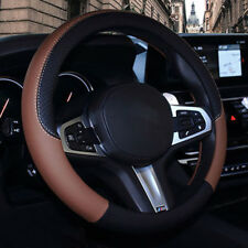 1x Nice Artificial Leather Car Steering Wheel Cover Protector Wonderful For 38cm
