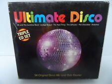 Various Artists - Ultimate Disco (Triple CD Set) - Various Artists CD
