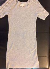 Banana Republic Grey Wool Sweater Dress, XS