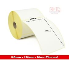 10,000 - 100mm x 150mm Direct Thermal Labels - Citizen CLP 631 Printer Labels