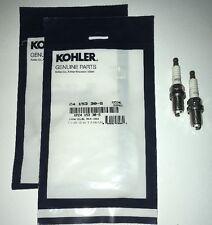 2-Pack Kohler Courage V-Twin Oem Valve Cover O-Ring 24 153 30-S & Ngk Spark Plug