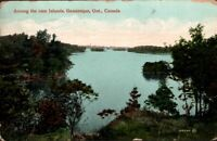 Vintage Postcard -Among the Thousand Islands St Lawrence River Ontario Canada