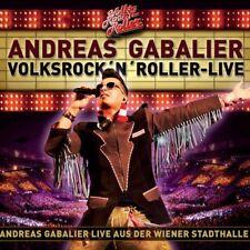 "ANDREAS GABALIER ""VOLKSROCK'N'ROLLER-LIVE"" 2 CD NEW+"