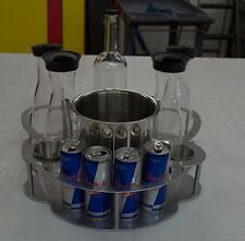 VIP CHAMPAGNE BOTTLE SERVICE DELIVERY TRAY/CADDIE - ENERGY 1