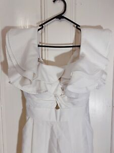 SHEIKE White Jumpsuit - Size 8