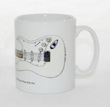 Guitar Mug. Jimi Hendrix's Fender Stratocaster from Woodstock 1969