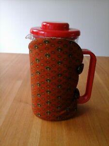 Cafetiere cosy, coffee pot cosy, cafetiere, cosy, handmade, brown,