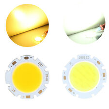 Round COB LED Bead Chips High Power 3W 5W 7W 9W For Down Light Ceiling Lamp