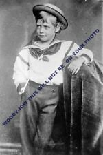 mm635 - young George Prince of Wales future King George V- photo 6x4""