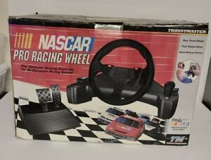 Thrustmaster Nascar Pro Racing Wheel and Pedals for PC WIN 95/DOS NEW IN BOX NOS