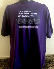 Jack In The Box JACK'S MUNCHIE MEAL PARTY LATE NIGHT Burger Employee T-shirt 2XL