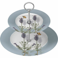 Creative Tops Royal Botanic Garden Kew Lavender 2-Tier Fine China Cake Stand