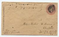 1868 Guilford Station VA manuscript scarce DPO [JP.107]