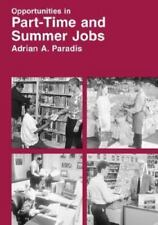 Opportunities in Part-Time and Summer Jobs Careers-ExLibrary