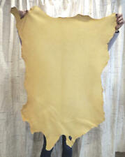 Gold Sheepskin Leather Hide for Native Crafts Buckskins Garments Costumes Bags