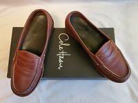 Cole Haan Pinch Penny Bourbon Men's Leather Slip-On Dress Shoes Size 7.5 D