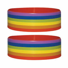 Official Pride Stripes - Rubber Gummy Wristband