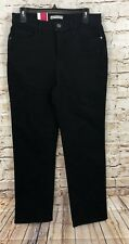 Lee Black jeans womens 12 short classic fit stretch new A9