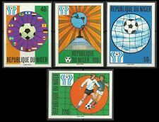 Niger Coupe du Monde Football Fifa World Soccer Cup Fußball Imperforated ** 1978