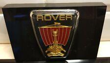 Vintage Rover Car Viking Logo Presse-papier Briefbeschwerer Paper Weight RARE