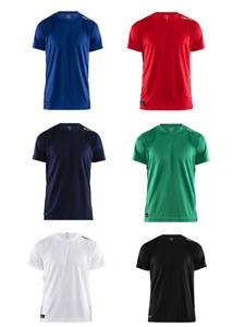 Craft Herren Funktionsshirt Laufshirt Sportshirt Teamsshirt Gr. XS - 3XL Neu