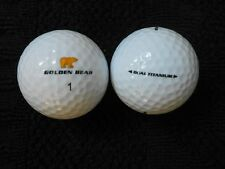 "20 NICKLAUS  ""GOLDEN BEAR"" - DUAL TITANIUM - Golf Balls - ""PEARL/A"" Grades."