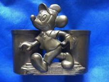 Disney Mickey Mouse Solid Brass Double Candleholder