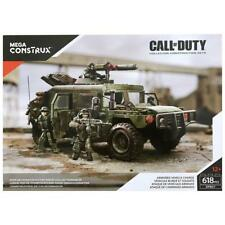 NEW Mega Bloks Call of Duty Armored Vehicle Charge Construx Collector DPB57 Set