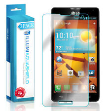 2x iLLumi AquaShield Crystal HD Clear Screen Protector Shield for LG Optimus F7