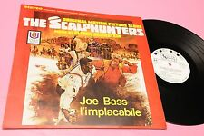LP OST JOE BASS L'IMPLACABILE ORIG ITALY 1968 PROMO EDITION LAMIANTED COVER