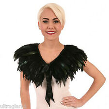 PURPLE ROOSTER COQUE FEATHER NECKLINE COLLAR// CAPE//BOA// TRIM//COSTUME//DRAG QUEEN