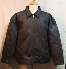 Dickies Gray Work Jacket Quilted Lining Full Zip Heavy Canvas Shell - 2XL RG