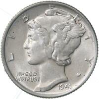 1941 Mercury Dime 90% Silver About Uncirculated AU