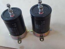 LOT OF 2 PCS NIPPON CHEMI-COM CEMW 50V 22000UF CAPACITORS (R4S9.2B1)