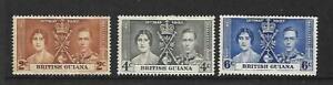 1937 Coronation set of 4 Mint Hinged