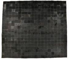 Cowskin Carpet Black Natural Patchwork 200 X 200 CM Cowhide Rug