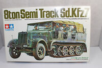 mb1196, RAR Alter Tamiya 3033 Sd.Kfz7 Halbkette Motor mint BOX 1:35 Bausatz Kit