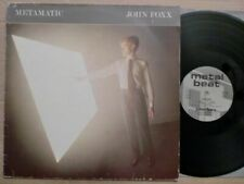 JOHN FOXX - METAMATIC / LP / 1981 / GER / METAL BEAT / ORIGINAL INNERSLEEVE