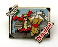 Disney DLR Winnie the Pooh & Tigger Memories 2005 Pin Trading LE 1000