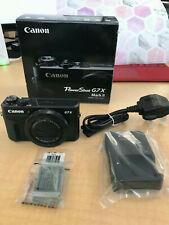 Cámara digital Canon Powershot G7 X Mar con full HD II películas en 60p-Versión UK