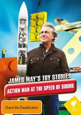 James May's Toy Stories - Action Man At The Speed Of Sound (DVD, 2015)-FREE POST