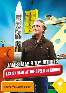 James May's Toy Stories - Action Man At The Speed Of Sound dvd -brand new sealed