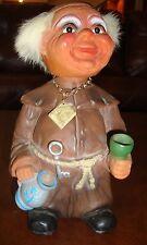 Vintage Nodder Drunken Monk Doll - HEICO - Western Germany - Complete - Estate